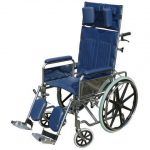 כסא גלגלים ריקליינר גב הטיה