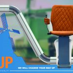 UP-from a sloping chair to the stairs