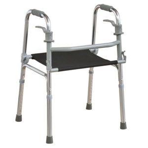 הליכון מתקפל עם כיסא בלי גלגלים