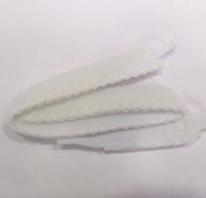 רצועת קיבוע לטריכיאוסטומי שני חלקים תפור
