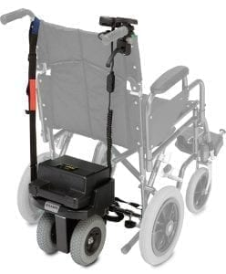 Wheelchair auxiliary for all types of wheelchairs