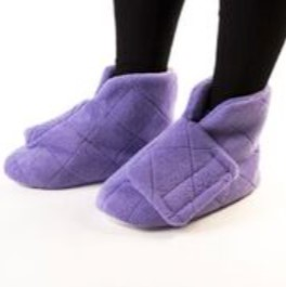נעליים מחממות לרגלים נפוחות