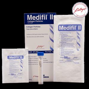 חבישת קולגן לפצעים קשיי ריפוי Medifill II PARTICLES 1gm Vial