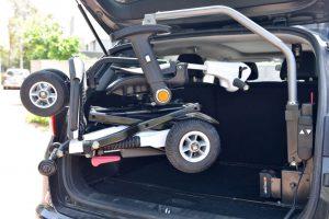 מנוף להרמת קלנועית לרכב ללא התקנה EZ Ride