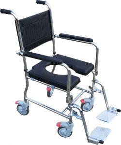 """כסא רחצה ושירותים נירוסטה רוחב 51 ס""""מ Water Play"""