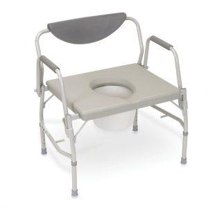 כסא שרותים לכבדי משקל