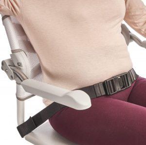 חגורת בטחון לכסא רחצה קלין clean