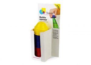 פותח בקבוקים מסיליקון, מגוון צבעים TENURA