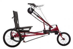 Handbikes, rear-wheel drive