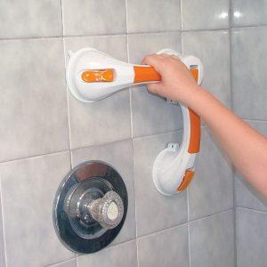 ידית אחיזה וואקום למקלחת עם שינוי זווית