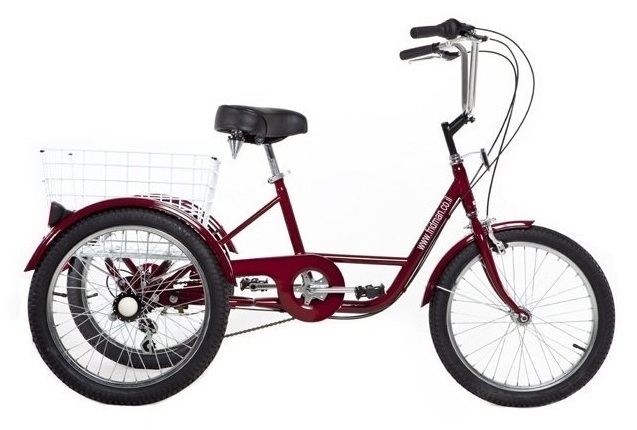 "Large tricycle for adults ""20"