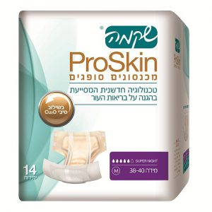מכנסון סופג למבוגרים ProSkin סופר נייט M