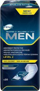 TENA פד סופג לגבר שלב 2 20 יחידות