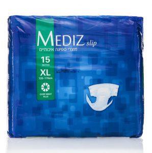 חיתולים למבוגרים Over Night Plus מידה XL מבית MEDIZ