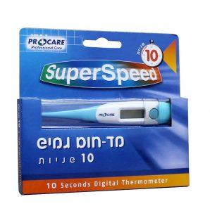 מד חום גמיש פרוקר 10 שניות PROCARE SUPER SPEED