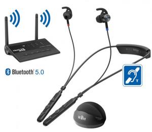 אוזניות לטלוויזיה כפתורים גדולים   Access