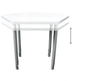 שולחן כיתה\ גן מתכוונן לקבוצות או יחידים