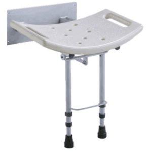 Flip Flap מושב מתקפל למקלחת עם רגליות